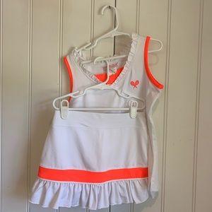 Little Miss Tennis 2 piece set, size XS M